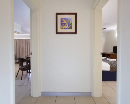 Cairns Queenslander - Frangipani Entrance 6K x 4K